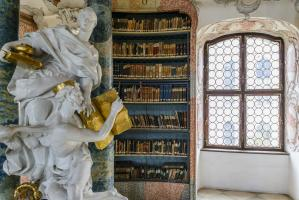 Monastery Library Wiblingen, Germany