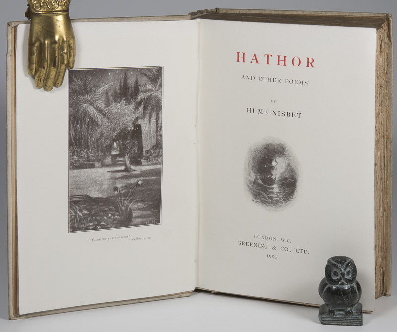 Hume Nisbet [James]. Hathor and other Poems.