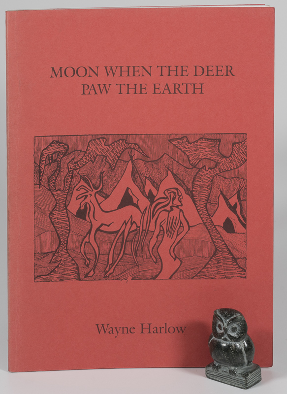 Harlow, Moon When The Deer Paw The Earth - Signed.