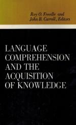 Freedle, Language Comprehension and the Acquisition of Knowledge.