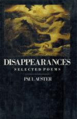 Auster, Disappearances - Selected Poems.