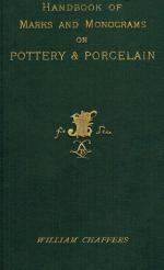 Chaffers, The Collector's Hand-book of Marks and Monograms on Pottery & Porcelain of the Renaissance and Modern Periods.