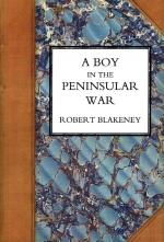 Blakeney, A Boy In The Peninsular War
