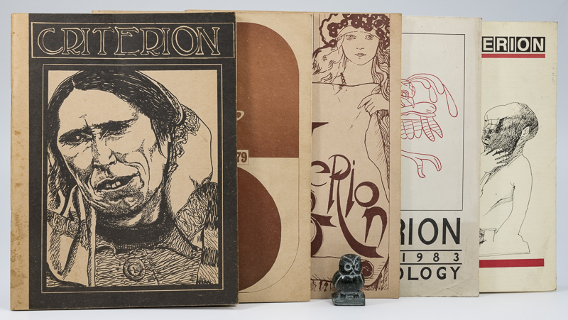 Various Authors. Criterion. A small collection of Five Issues.